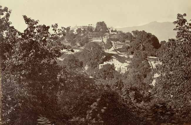 Rare Old Picture of Mussoorie